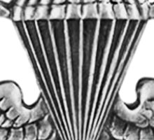 Army Parachute Wings Sticker