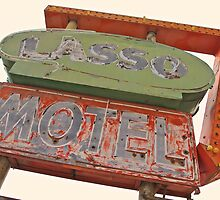 Lasso Motel, Route 66 by Andrew Felton