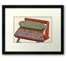 Lasso Motel, Route 66 Framed Print