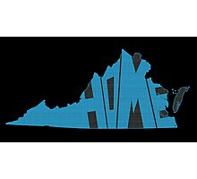 Virginia HOME state design Photographic Print