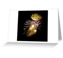 Fireworks Variation # 30 Greeting Card