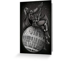 Wrecking Star - Print Greeting Card