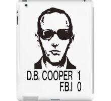 D.B. Cooper 1 F.B.I 0 iPad Case/Skin