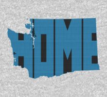 Washington HOME state design Kids Clothes