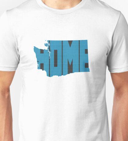 Washington HOME state design Unisex T-Shirt