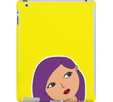 girl in yellow iPad Case/Skin