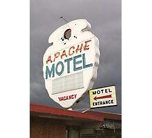 Apache Motel Photographic Print