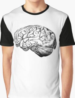 Brain Anatomy Graphic T-Shirt