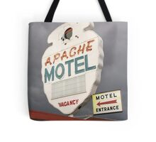 Apache Motel Tote Bag