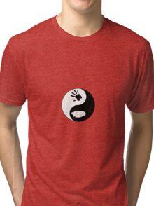 Dire Wolf Therian Ying/Yang Tri-blend T-Shirt