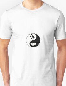 Dire Wolf Therian Ying/Yang T-Shirt