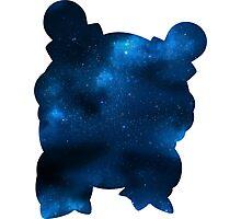 Galaxy Blastoise Photographic Print