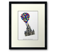 Floating UP & Away Framed Print