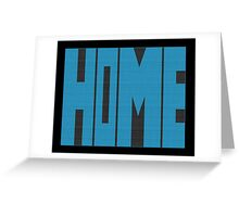 Wyoming HOME state design Greeting Card