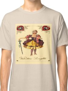Vintage Valentine Thoughts Classic T-Shirt
