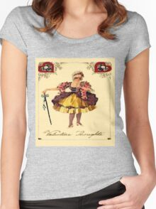 Vintage Valentine Thoughts Women's Fitted Scoop T-Shirt