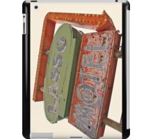 Lasso Motel, Route 66 iPad Case/Skin