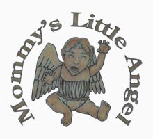 Mommy's Little Angel One Piece - Short Sleeve
