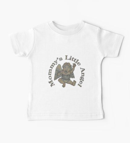 Mommy's Little Angel Baby Tee