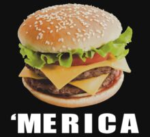 cheeseburger 'merica blk by Glamfoxx
