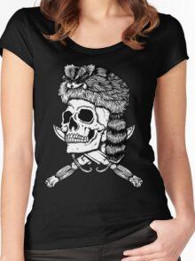 Coonskin Cap and Bowie Knives Women's Fitted Scoop T-Shirt