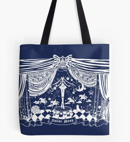Moonlight Circus - Navy Tote Bag