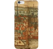 Konstanz Vintage map.Geography Germany ,city view,building,political,Lithography,historical fashion,geo design,Cartography,Country,Science,history,urban iPhone Case/Skin