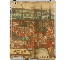 Konstanz Vintage map.Geography Germany ,city view,building,political,Lithography,historical fashion,geo design,Cartography,Country,Science,history,urban iPad Case/Skin