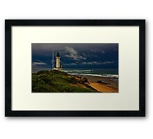 """""""Stormy Sunday At The Rip"""". Framed Print"""