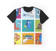 Finding Dory Characters Graphic T-Shirt