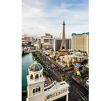 The Strip, Las Vegas, Nevada, USA Photographic Print