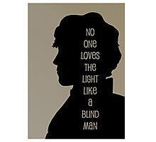 The Blind Man Photographic Print