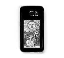 The Sun Tarot Card - Major Arcana - fortune telling - occult Samsung Galaxy Case/Skin