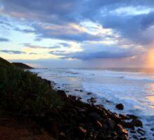 Sunrise Shelly Beach Ballina NSW Sticker