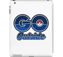 Pokemon Go Outside! iPad Case/Skin