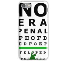 No Era Penal MX 2014 - Eye Chart iPhone Case/Skin