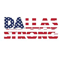Dallas Strong Photographic Print