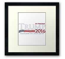 Donald Trump T-shirt - Donald Trump for president 2016  Framed Print