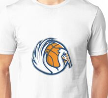 Pelican Wings Basketball Retro Unisex T-Shirt