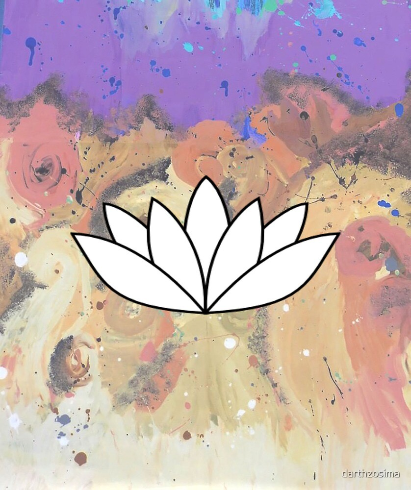 Trippy Lotus by darthzosima