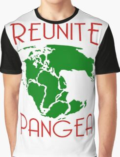 Funny Reunite Pangea Graphic T-Shirt