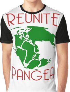 Funny Reunite Pangea Graphic T-Shirt