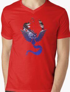 Team Mystic Pokemon GO Lets Go Mens V-Neck T-Shirt