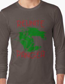 Funny Reunite Pangea Long Sleeve T-Shirt