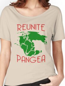 Funny Reunite Pangea Women's Relaxed Fit T-Shirt