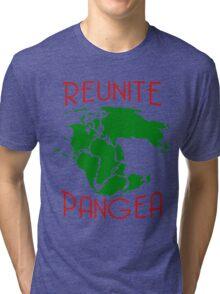 Funny Reunite Pangea Tri-blend T-Shirt