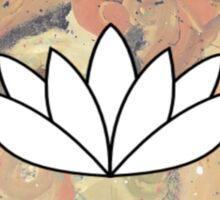 Trippy Lotus Sticker