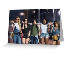 Fifth Harmony - Jimmy Kimmel Greeting Card