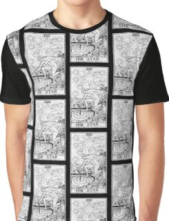 The Star Tarot Card - Major Arcana - fortune telling - occult Graphic T-Shirt