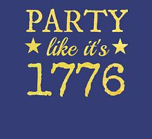 Musical T-shirt - Party like 1776  Unisex T-Shirt